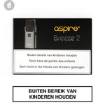 aspire breeze 2 e-sigaret pocket e-smoker grijs