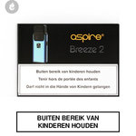 aspire breeze 2 e-sigaret pocket e-smoker blauw