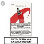 eleaf istick pico x e-sigaret starterskit e-smoker 75watt rood