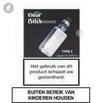 eleaf i-stick nowos type c e-sigaret e-smoker starterskit 4400mah 80watt zilver
