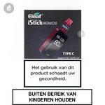 eleaf i-stick nowos type c e-sigaret e-smoker starterskit 4400mah 80watt rood