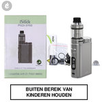 eleaf istick pico 21700 e-sigaret kit 100watt gunmetal brushed zilver