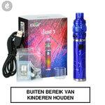 Eleaf iJust 3 e-sigaret stick mod startset 2ml 3000mah acrylic blauw