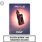 eleaf istick pico s e-sigaret starterskit 100watt 2ml e-smoker rood
