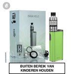 eleaf istick melo 60watt + melo 4 tank e-sigaret starterskit 4400mah groen
