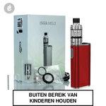 eleaf istick melo 60watt + melo 4 tank e-sigaret starterskit 4400mah rood