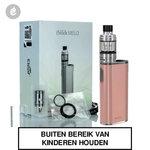 eleaf istick melo 60watt + melo 4 tank e-sigaret starterskit 4400mah roze