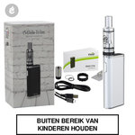 eleaf i-stick trim kit e-sigaret gsturbo 1800mah 25watt zilver