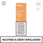 migo e-liquid nic salt nicotinezout 20mg peach shake 10ml.jpg