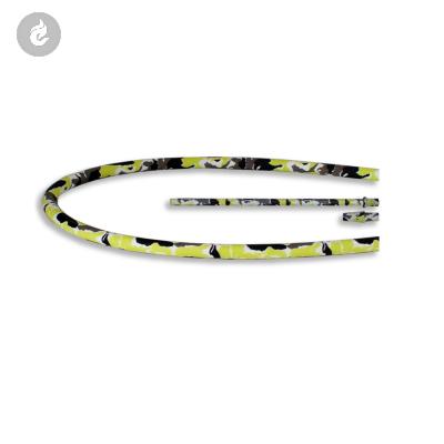 Siliconen Hookah Slang Set Compleet Camouflage Geel 150cm