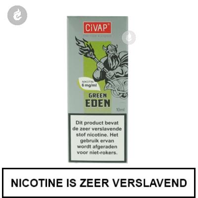 CIVAP e-Liquid Green Eden / Groene Appel 12mg Nicotine