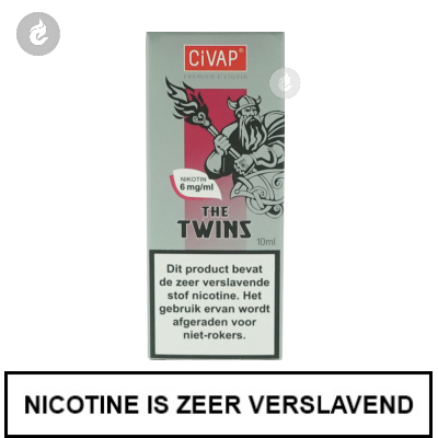 CIVAP e-Liquid The Twins / Kers 6mg Nicotine
