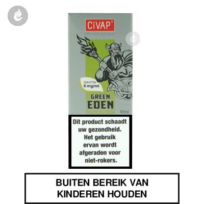 CIVAP e-Liquid Green Eden / Groene Appel Nicotinevrij