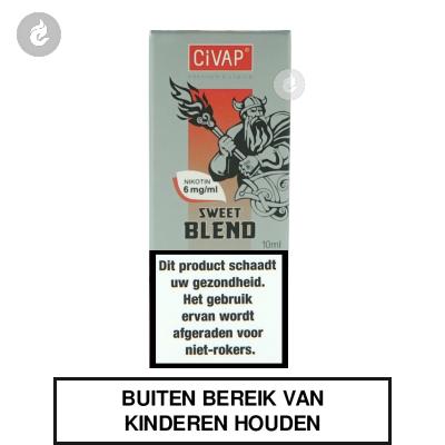 CIVAP e-Liquid Sweet Blend / American Blend Gold Nicotinevrij