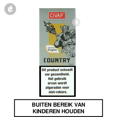 CIVAP e-Liquid Country / Dominion Tabak Nicotinevrij