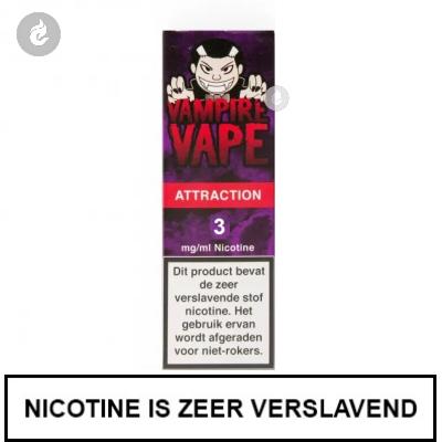Vampire Vape Attraction 3mg nicotine