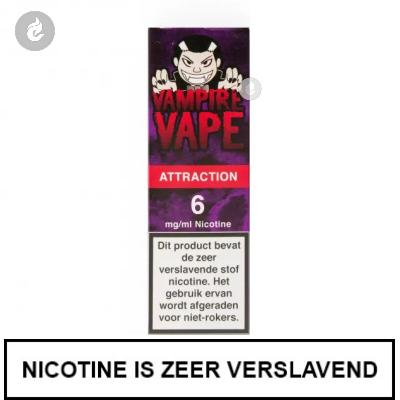 Vampire Vape Attraction 6mg nicotine