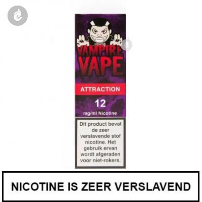 Vampire Vape Attraction 12mg nicotine