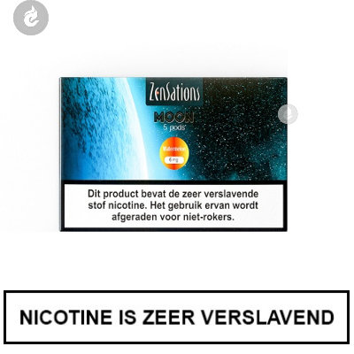 Zensations Moon PODS Watermeloen 12mg Nicotine 1.8ml (5 stuks)