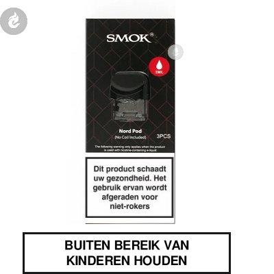SMOK Nord PODS 2ml (3 stuks)