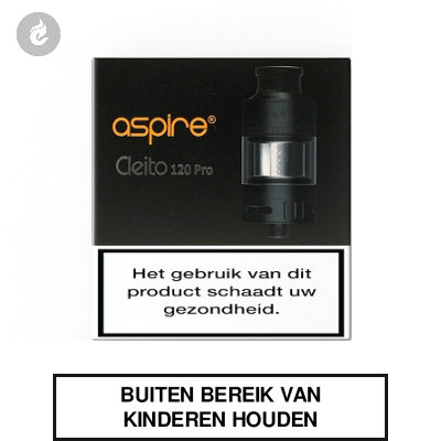 Aspire Cleito 120 Pro Clearomizer 2ml Zwart