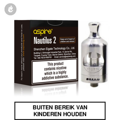 Aspire Nautilus 2 Clearomizer 2ml RVS