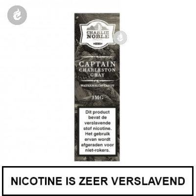 Charlie Noble Captain Charleston Gray 12mg Nicotine
