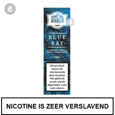 Charlie Noble Blue Bay 3mg Nicotine