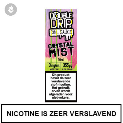 Double Drip Coil Sauce - Crystal Mist 3mg nicotine