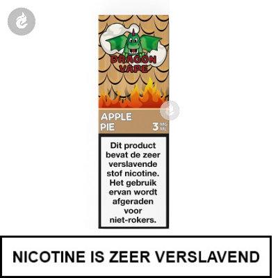 Dragon Vape Apple Pie 3mg nicotine