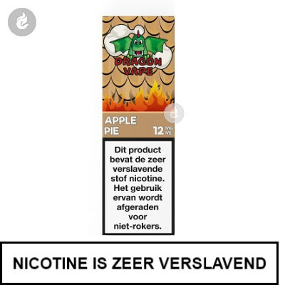 Dragon Vape Apple Pie 12mg nicotine