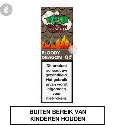 Dragon Vape Bloody Dragon nicotinevrij