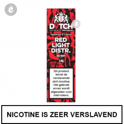 DVTCH Amsterdam Red Light District 6mg Nicotine