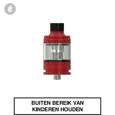 Eleaf Melo 4 Clearomizer 2ml Rood