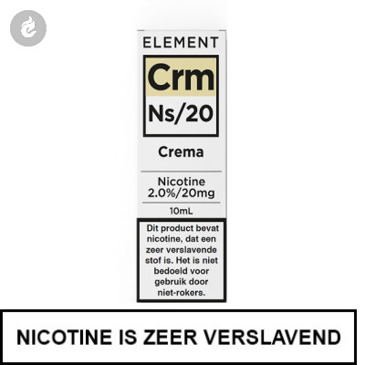 Element Nic Salts Crema Ns/20mg Nicotine 10ml