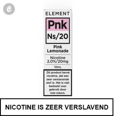 Element Nic Salts Pink Lemonade Ns/20mg Nicotine 10ml