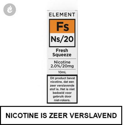 Element Nic Salts Fresh Squeeze Ns/20mg Nicotine 10ml