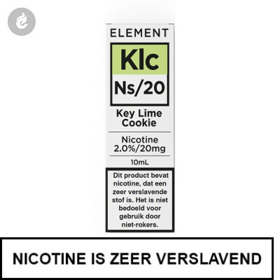 Element Nic Salts Key Lime Cookie Ns/20mg Nicotine 10ml