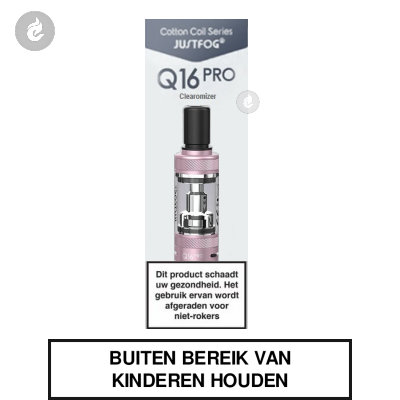 Justfog Q16 PRO Clearomizer Roze