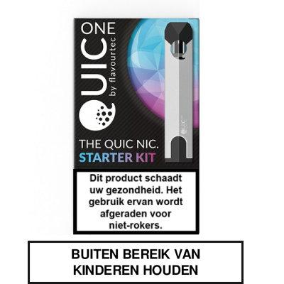 Flavourtec Quic One Starterskit Zilver