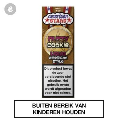 Flavourtec - American Stars - Nutty Buddy Cookie 0mg Nicotine