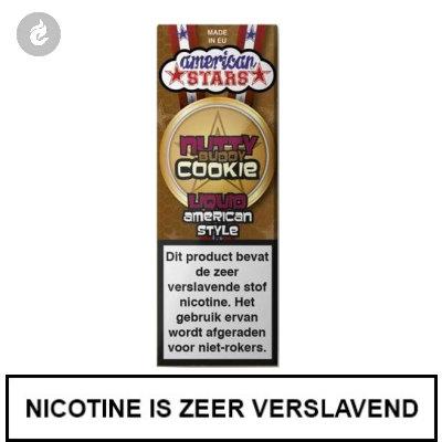 Flavourtec - American Stars - Nutty Buddy Cookie 3mg Nicotine