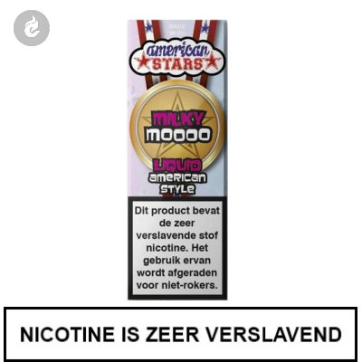 Flavourtec - American Stars - Milky Moooo 12mg Nicotine