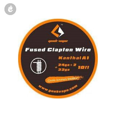 Geekvape Kanthal A1 Fused Clapton Wire 24GAX2+32GA (10ft)
