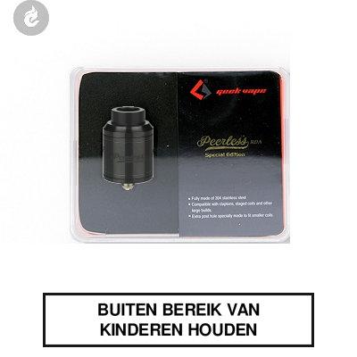 GeekVape Peerless RDA Special Edition Zwart
