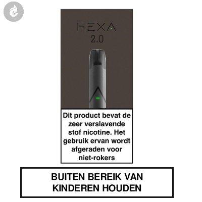 HEXA 2.0 POD Kit Zwart