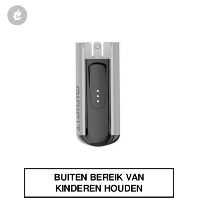 Justfog Minifit Batterij 370mah Zilver