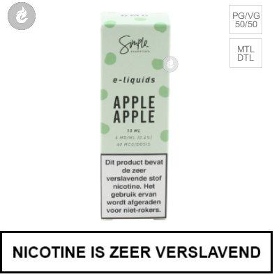 Simple Essentials - Apple Apple 3mg Nicotine