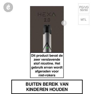 HEXA 2.0 POD Kit Zilver