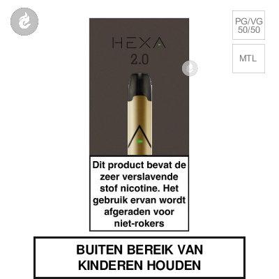 HEXA 2.0 POD Kit Goud